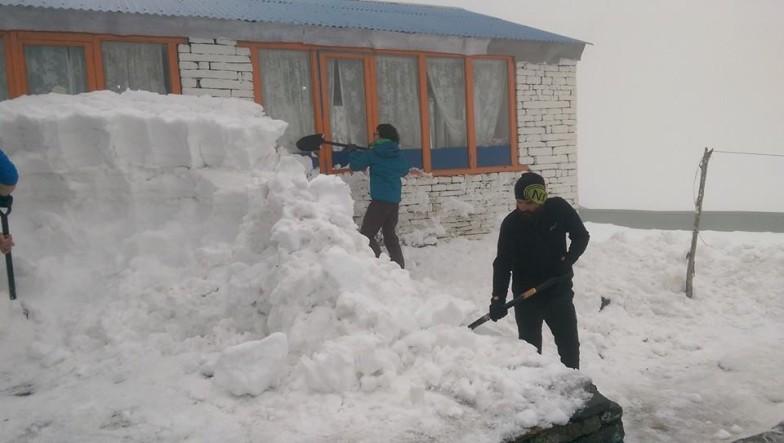 Machhapuchhre Base Camp, 3700 m